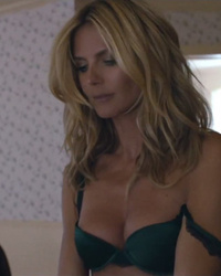 "Heidi Klum Strips Down in Sia's ""Fire Meet Gasoline"" Music Video -- Which Actor Is She Kissing?!"
