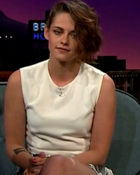 Kristen Stewart Shows Off New Ink, Says She Used Her Mom's Tattoo Artist