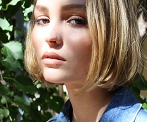 Lily-Rose Depp, 15, Makes Her Modeling Debut in Oyster Magazine