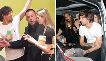 Louis Tomlinson -- Once, Twice, Three Times a Player (PHOTOS)