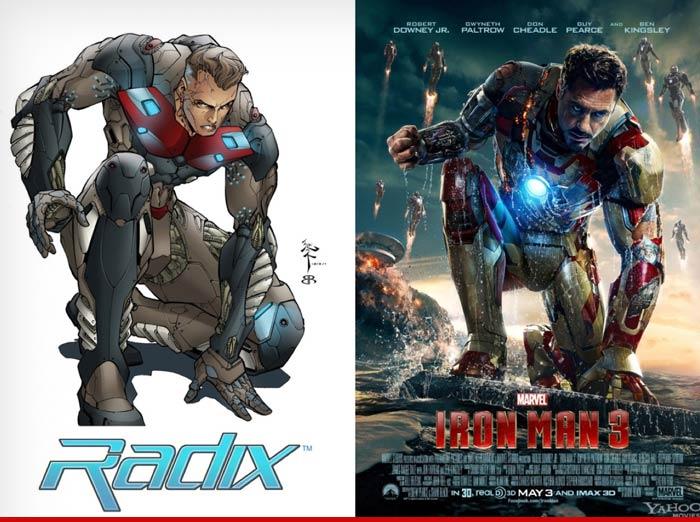 Iron Man One Good Suit Deserves Another TMZcom
