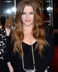Lisa Marie Presley Hits Red Carpet with Son Benjamin -- See the Elvis Resemblance?