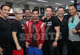 Mark Wahlberg -- Ringside Seats to Watch Pacquiao ... Train