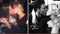 Miley Cyrus -- Post-Patrick Schwarzenegger Life Is ... Kissing Everybody