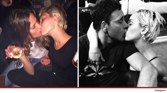 Miley Cyrus Kissing