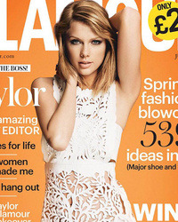"Taylor Swift Stuns In Glamour UK, Says She was ""Shamed"" Into Not Dating"
