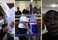 Justin Bieber -- Ringside for BFF's Boxing Debut ... Lil Za Wins!!!!