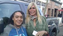 'Mob Wives' Big Ang -- Drops Blonde Bombshell After Cancer Surgery (PHOTO)