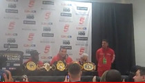 Wladimir Klitschko -- Blasts Shannon Briggs ... Speedboat Stunt Wasn't Funny