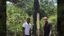 Miami Heat Stars -- GATOR RAID ... Team Up for Swamp Hunt