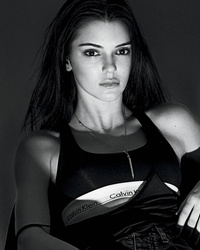 Kendall Jenner Strips Down To Her Calvins For Latest Photo Shoot