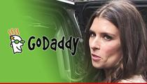 GoDaddy -- Drops Danica Patrick ... As NASCAR Sponsor