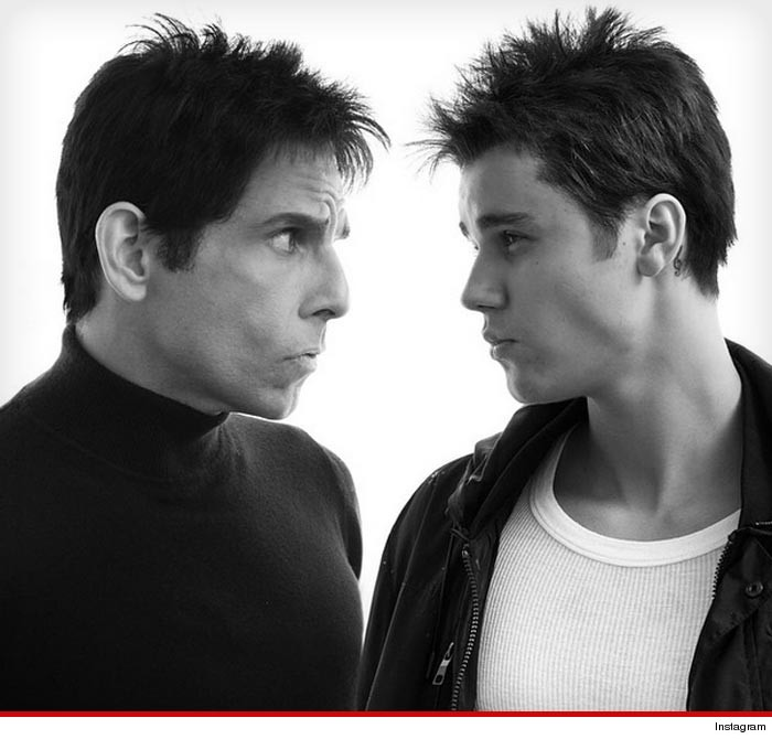 Ben Stiller Justin Bieber  Billy Zane -- You'll Never Believe Who Else Is in 'Zoolander 2' (VIDEO) Ben Stiller & Owen Wilson -- It's a Walk-Off! Hansel and Derek Crash Paris Fashion Week