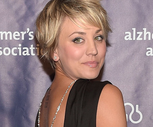 Kaley Cuoco Debuts Pink Hair -- Like the New Look?