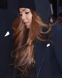 Janet Jackson Makes Rare Public Appearance While Attending Giorgio Armani Dinner