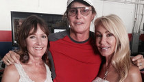 Bruce Jenner -- Ex-Wives By His Side (PHOTO)