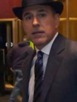 """Matt Lauer Talks Cross-Dressing For Halloween, Says Signature Drink Is """"Vodka With a Twist of Ambien"""""""