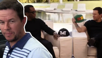 Mark Wahlberg & Diddy -- We Pay Our Bets ... Even the $250k Ones! (TMZ TV)