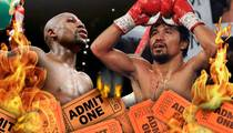 Mayweather vs. Pacquiao -- Fire Sale On Tix ... Investors Losing Big $$$