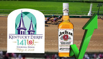 Kentucky Derby -- Bourbon Sales Through the Hoof ... Says Jim Beam
