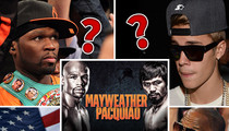 Mayweather vs. Pacquiao -- Gamblers Betting on Bieber ... In Crazy Prop Bets