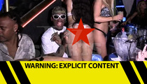 Dennis Rodman -- STRIPPER FIESTA ... At Thong'd Out BDay Party