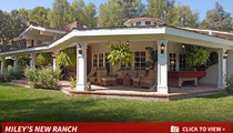 Miley Cyrus -- New Home, Home on the Range (PHOTOS)