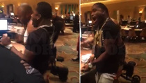 Adrien Broner -- BANGS BACCARAT TABLE ... After Massive Win