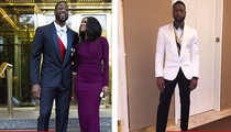 Dwyane Wade -- $900,000 Wardrobe ... For Met Gala