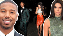 Kendall Jenner & Michael B. Jordan -- He Fits the BF Profile ... For Kardashians (TMZ TV)