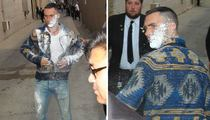 Adam Levine -- Sugar Bombed at Jimmy Kimmel ... Suspect Apprehended