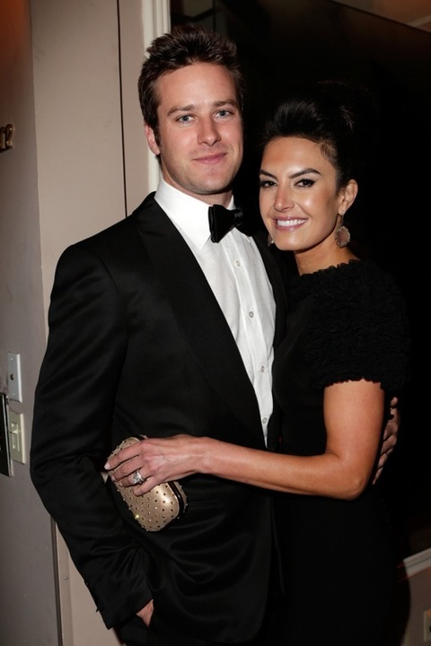 Armie Hammer & Elizabeth Chambers -- The Happy Couple ...