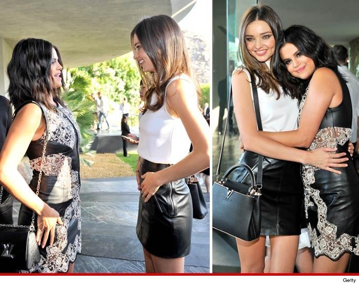 Selena Gomez Miranda Kerr Together