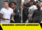 Adam Levine -- Total White Out! Moment of Impact in Sugar Bombing (VIDEO)