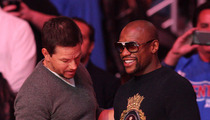 Wahlberg to Mayweather -- You're a Great Boxer, But that Jewelry ... Fabulous! (PHOTO)