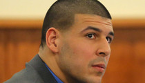 Aaron Hernandez -- Charged for Shooting Murder Witness In Face ... Allegedly