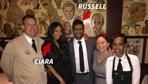 Russell Wilson -- Crashes Ciara's Girls Night Out ... And She's Smitten