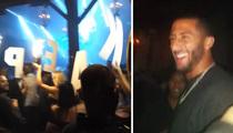 Colin Kaepernick -- Clubbin' with Bachelorette Party ... You Guys Like Dom P?!