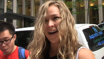 Ronda Rousey -- Chicken Wing Erotica ... There's a Sexy Way to Scarf