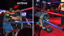 Antoine Dodson -- Suffers Softest KO Of All Time ... In Celebrity Boxing Match