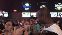 Adrian Peterson -- SHOTS ON ME ... Buys Vodka for Entire Texas Bar!