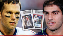 Brady's Backup Jimmy Garoppolo -- Now Worth Almost as Much as Tom!! In Trading Card World
