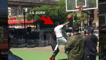 Lil Durk -- Ballin' At Rucker Park ... Don't Let the Skinny Jeans Fool Ya ...