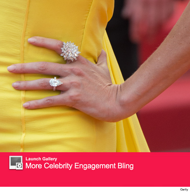 Penn & Theron engaged?: Charlize Theron Engagement Ring