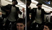 LeBron James -- Team Jet Turn Up ... After KO'ing Chicago