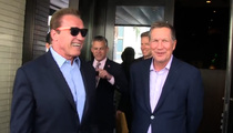 Arnold Schwarzenegger -- I Got Governor John Kasich in The Palm of My Hand!