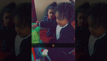 Chris Brown & Tyga -- Playdate Fit for a King ... And Royalty (VIDEO)