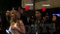 Lakers' Jordan Clarkson -- PDA with Chanel Iman ... Victoria's Secret Model