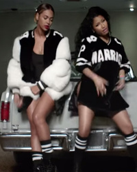 "Beyonce & Nicki Minaj Have The Ultimate Summer Party In ""Feeling Myself"" Video"