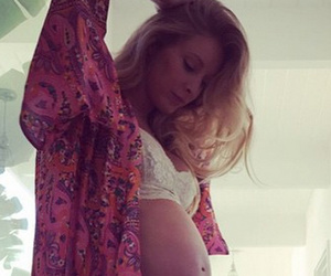 Leah Jenner Flaunts Bare Baby Bump In Lingerie -- See the Pic!